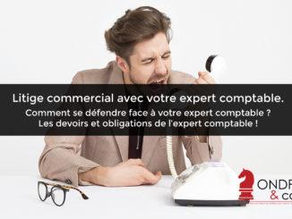 Litige, comptable, commercial, défendre, expert, devoirs, obligations